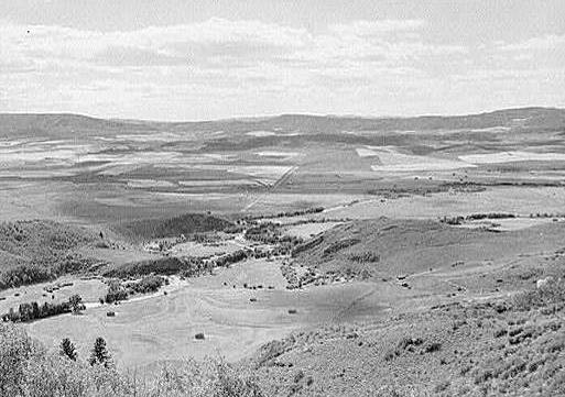 The Yampa Valley in 1957